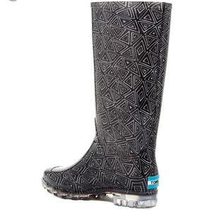 Toms Geo Waterproof Rain Boot